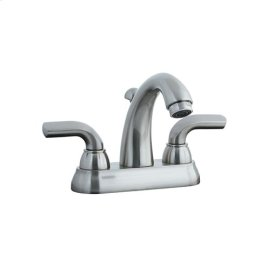 "Stone Mountain - 4"" Centerset Lavatory Faucet - Distressed Bronze"