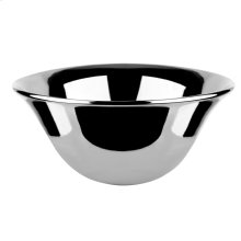 """Counter washbasin in Bright Platinum Gres without overflow waste 7-1/4"""" HIGH X 15-3/4"""" DIAMETER Drain sold separately - see 29048 Please contact Gessi North America for freight terms Not certified for use in North America"""