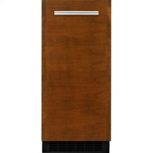 """Panel-Ready 15"""" Undercounter Ice Machine with Articulating Hinge, Stainless Steel"""