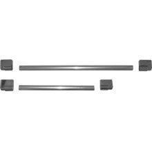 Metal handle kit Chrome