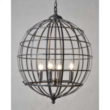 Cage 4-Light Chandelier