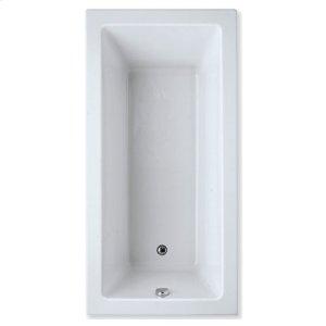 "Easy-Clean High Gloss Acrylic Surface, Rectangular, Soaking Bathtub, 36"" X 72"" Product Image"