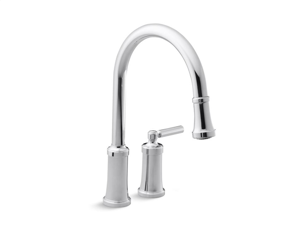 Additional Pull-Down Kitchen Faucet - Brushed Nickel