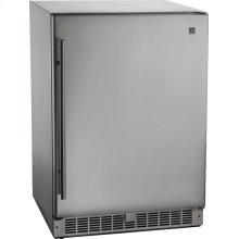 Outdoor Rated Stainless Steel Fridge , Stainless Steel , Electric