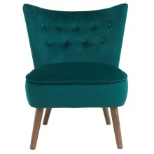 Elle Accent Chair in Green