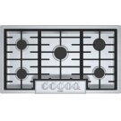 800 Series Gas Cooktop 36'' Stainless steel NGM8656UC Product Image