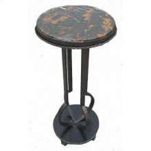 Metal Stand with Marble Top