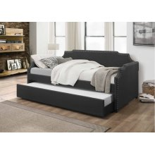 7511 Dark Gray Daybed with Trundle