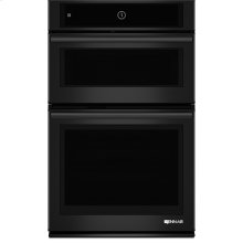 """27"""" Microwave/Wall Oven with MultiMode® Convection System, Black Floating Glass w/Handle"""