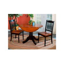 Dropleaf Table & 2 Chairs