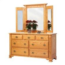"""Journey's End 66"""" Dresser- Mirror"""