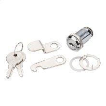 """1-1/8"""" Length Chrome Cam Lock Keyed Alike"""