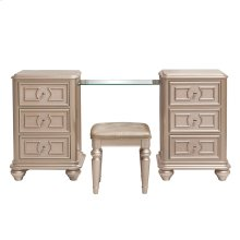 Dynasty Vanity with Stool