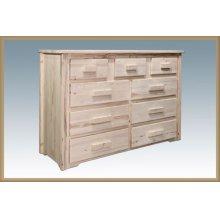 Homestead 9 Drawer Dresser