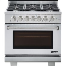 "36"" Professional Style Gas Range in Stainless Steel"