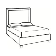 King Bed with Tall Headboard