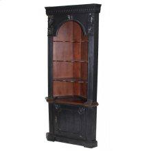 Corner Arch Bookcase