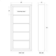 Saracuse Framed Bookcase