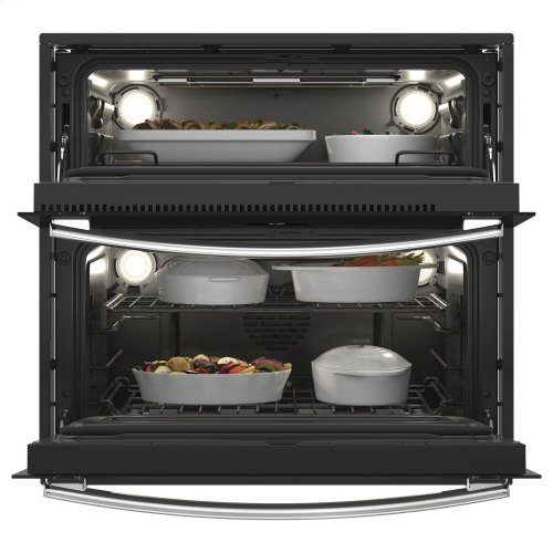 """GE Profile™ 30"""" Built-In Twin Flex Convection Wall Oven"""