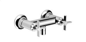 Shower mixer for wall-mounted installation - chrome Product Image