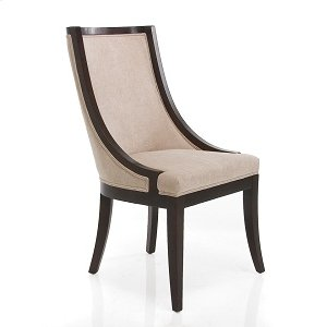 Lisa Dark Chair Fabric Taupe