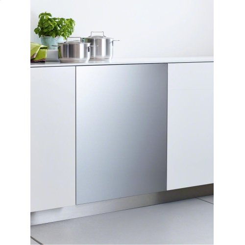 GFVi 603/77-1 Int. front panel: W x H, 24 x 30 in Clean Touch Steel w/o handle & bore holes for fully integrated dishwashers