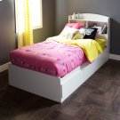 Mates Bed with 3 Drawers - Pure White Product Image