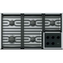 """36"""" Transitional Gas Cooktop Grate Set"""