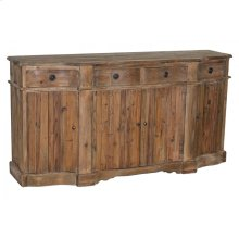 Pine Carved Front Buffet