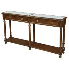 White Marble Console