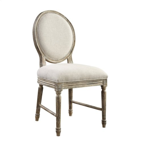 Emerald Home Interlude Side Chair W/upholstered Seat & Back Sandstone D560-20