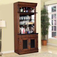 LEONARDO 2 piece Bar Base and Hutch Product Image