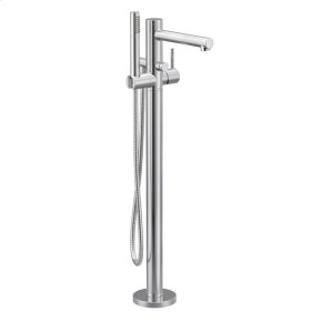 Align chrome one-handle tub filler includes hand shower