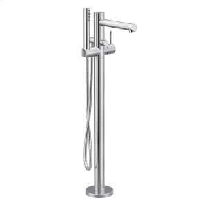 Align chrome one-handle tub filler includes hand shower Product Image