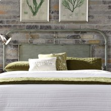 King Metal Headboard - Green