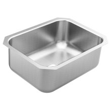 1800 Series 23.5 x 18.25 stainless steel 18 gauge single bowl sink