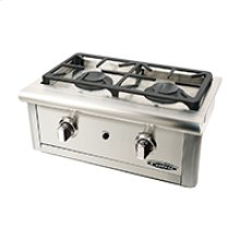 "24"" Wide Double Burner"