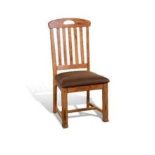Sedona Slatback Chair w/ Cushion Seat
