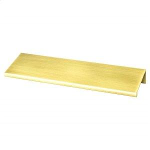 Bravo 112mm CC Satin Gold Edge Pull Product Image