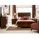 Caris Sleigh King Bed - Complete Product Image
