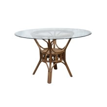 Table Base, Available in Tropic Natural Finish Only