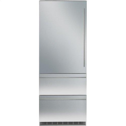 "30"" RH Integrated Bottom Mount Refrig/Freezer BIOFRESH Large Door"