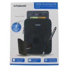 Polaroid 3-Piece Tablet Accessory Kit for 7 to 8 Inch Tablets