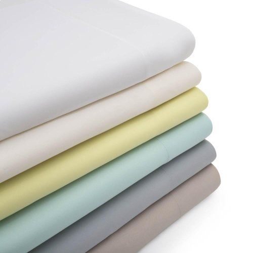 Rayon From Bamboo - King Pillowcase White
