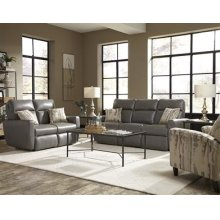 Double Reclining Loveseat with 2 Pillows