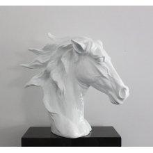 Modrest SZ0002 - Modern White Horse Head Sculpture
