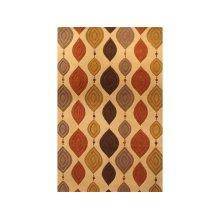 England Floor Coverings Artisan's Lovebirds 5' x 8' Rectangle 10718