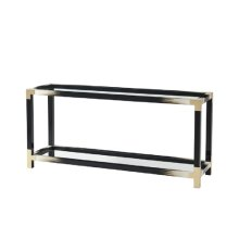 Cutting Edge Console Table - Faux Horn