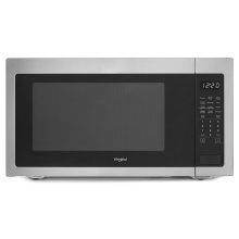 2.2 cu. ft. Countertop Microwave with Fingerprint-Resistant Color Options