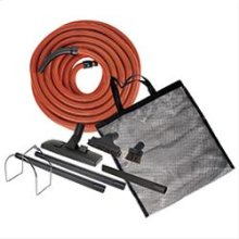 Garage and Car care kit for central Vacuum System
